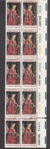 UNITED STATES 1363 PB MNH WITH 7 PLATE # 2019 SCOTT SPECIALIZED CAT VALUE $2.50