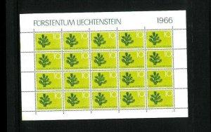 Liechtenstein 406-409 in Sheets of 20 x 7. Cat. 266.00 1.90 x 140). Wholesale