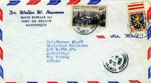 Martinique France 40F Pic du Midi Observatory and 3F Arms of Franche-Comte 19...