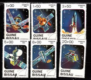 Guinea-Bissau 465-70 CTO