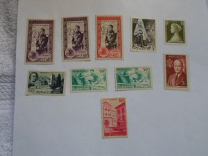 MONACO STAMPS LOT. 9 stamps # 9