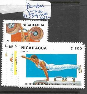 NICARAGUA  (PP1804B)  SPORTS SC 1253-9  MOG