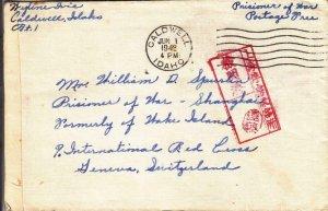 1942, Caldwell, ID to Wake Island, Civilian POW, See Remark (C4037)