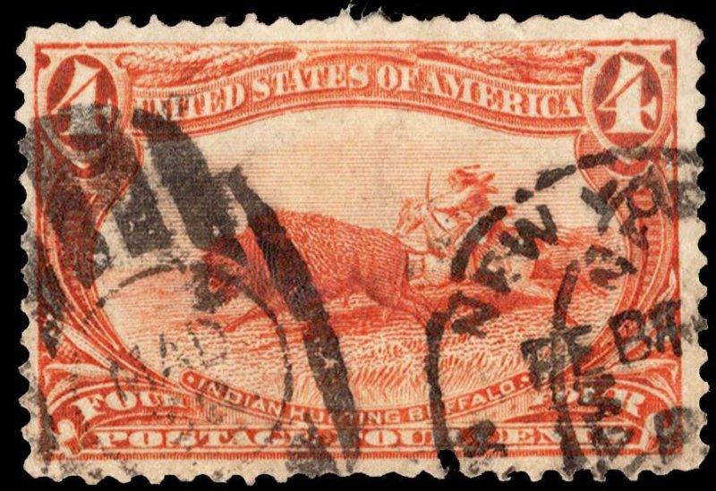 United States Scott 287 Used.