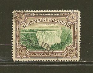Southern Rhodesia 37 Victoria Falls Used