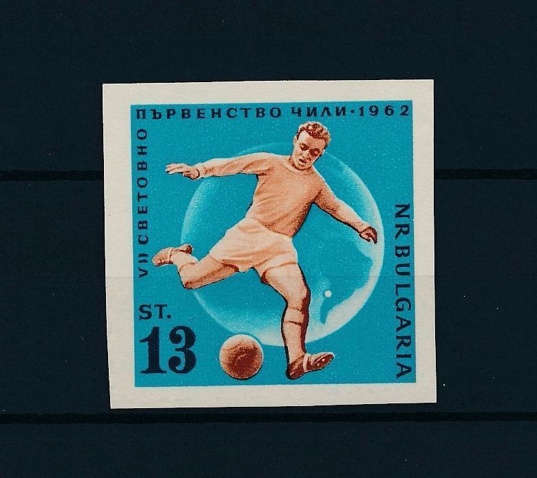 [43604] Bulgaria 1962 Sports World Cup Soccer Football Chile Imperforated MNH