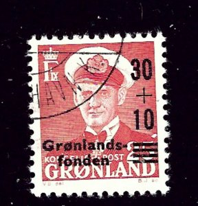 Greenland B2 Used 1959 surcharge