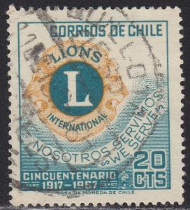 Chile 364 50th Anniv. of Lions Intl. 1967