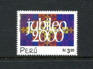 Peru 1260, MNH, Holy Year 2000. x29648