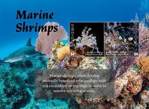 2020/11-TUVALU - MARINE SHRIMPS         2V  complet set    MNH ** T