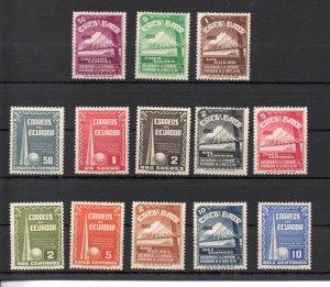 Ecuador 388-393,C80-C86 MNH
