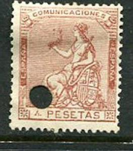 Spain #199 Mint Punch Cancel Accepting Best Offer