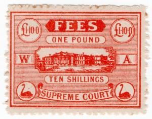 (I.B) Australia - Western Australia Revenue : Supreme Court £1 10/-
