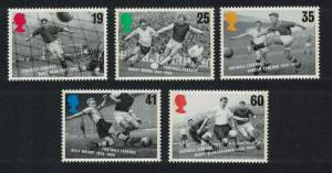 Great Britain European Football Championship 5v SG#1925-1929 SC#1663-1667