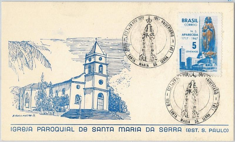 59091  - SWEDEN - POSTAL HISTORY: MAXIMUM CARD 1972  -  RELIGION