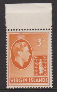 British Virgin Islands Sc#81 MNH - hinged in selvedge