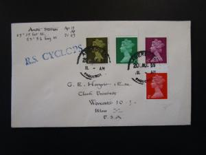 Great Britain 1969 R. S. Cyclops Arctic Paquebot Cover / Aberdeen CDS - Z6156