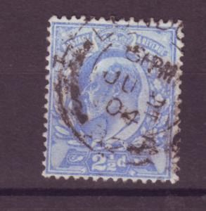 J17650 JLstamps 1902-11 great britain used #131 KEVII