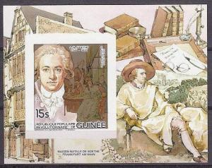 1984 Guinea 976/B84b Lux J.W.Goethe 20,00 €