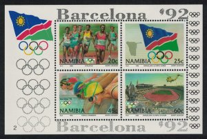 Namibia Olympic Games Barcelona MS SG#MS601