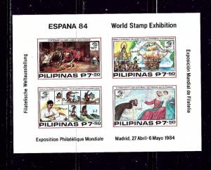 Philippines 1690 MNH 1984 Imperf S/S