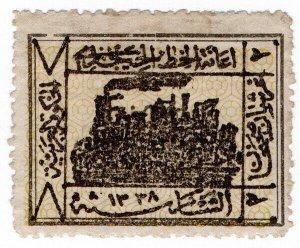 (I.B) Saudi Arabia Revenue : Hejaz Railway 2pa