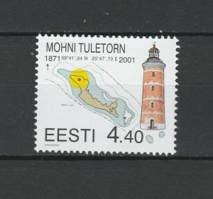 Estonia 2001 Lighthouses MNH stamp