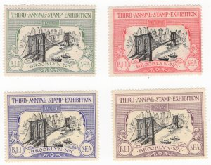 US 1934 Third Annual Stamp Exhibition Brooklyn NY