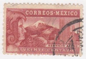 Mexico, Sc # C68, Used, Eagle Man