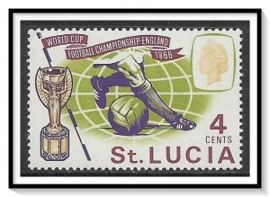 St Lucia #207 World Cup Soccer MNH