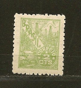 Brazil 656 Petroleum Mint Hinged