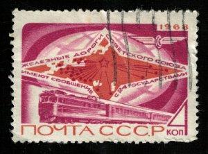 Railways Soviet Union, (3746-T)