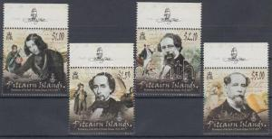 Pitcairn Islands stamp Charles Dickens MNH 2012 WS125533