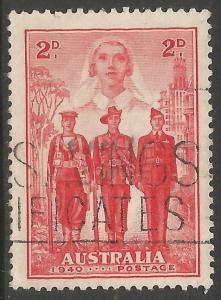 AUSTRALIA 185 VFU Z028-2