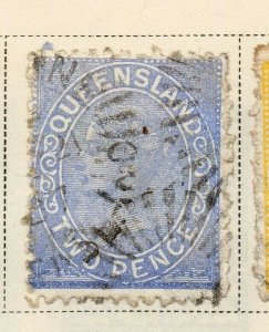 Queensland 1882-83 Early Issue Fine Used 2d. 326877
