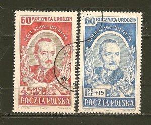 Poland B66-B67 Semi-Postal Used