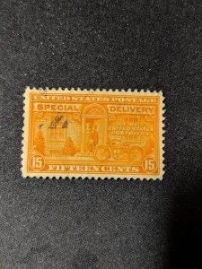 U.S. E13 VF, CV $3.75