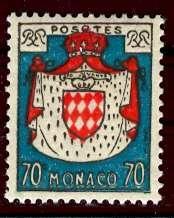 Monaco; 1954; Sc. # 313; */MH Single Stamp