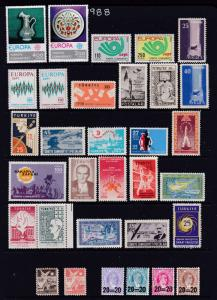 Turkey a mint selection 1950's to 70's mainly