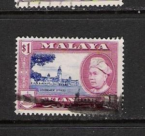 MALAYA SELANGOR 110 VFU  C954 C