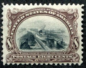 United States 298 Mint LH, F-VF, great color
