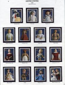 3151 Dolls Complete set of singles