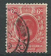 British East Africa SG 46a  scarlet  Fine Used