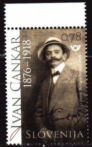 Slovenia. 2018. 1286. Tsankar, writer, playwright, publicist. MNH.