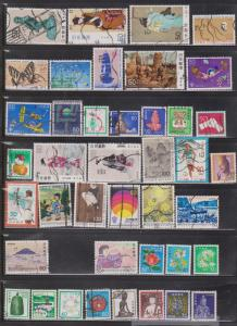 JAPAN - Mixture Of Used 1980s Issues - Good Value