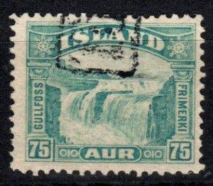 Iceland #175  F-VF Used CV $8.00  (X5732)