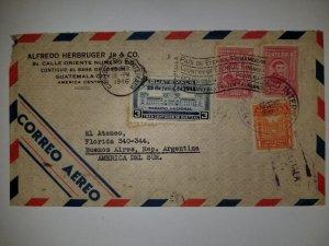 U) 1942, GUATEMALA, ARCHBISHOP PAVP ENRIQUEZ DE RIVERA, INAUGURATION OF NATIONAL