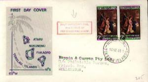 Tokelau Islands, First Day Cover