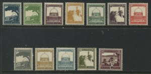 Palestine 1927-42 various values to 50 mills mint o.g. hinged