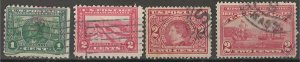 COLLECTION LOT # 3816 UNITED STATES 4 STAMPS 1909+ CV+$10